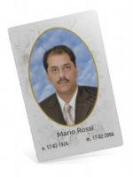 Ricordino CARD verticale vistra frontale